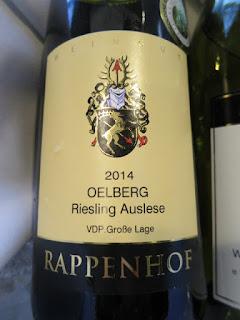 Rappenhof Niersteiner Oelberg Riesling Auslese 2014 - Rheinhessen, Germany (93 pts)