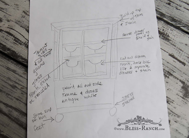 IKEA Rast Dresser Hack, Bliss-Ranch.com