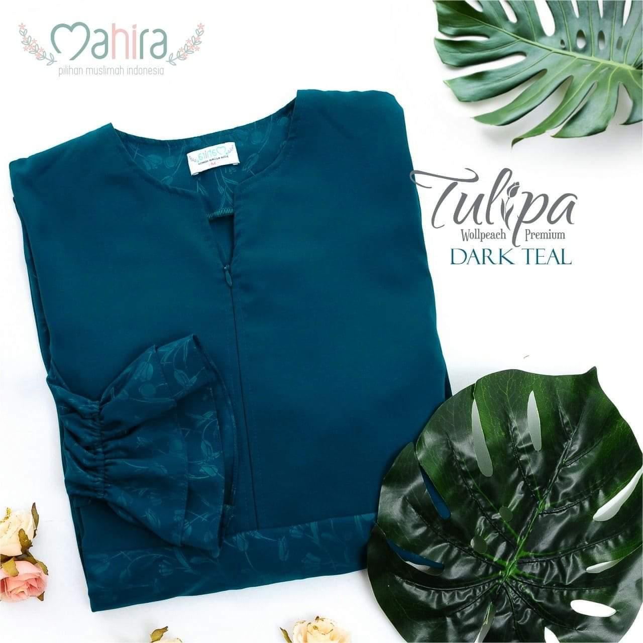 Mahira Tulipa Wollpeach Premium Dark Teal