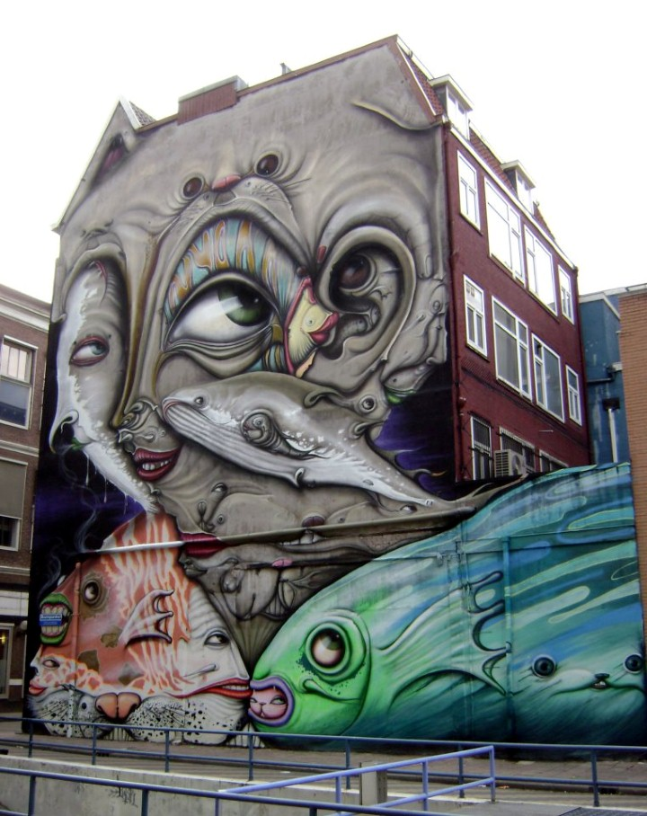 Andre Muniz Gonzaga. Street Art художник 23