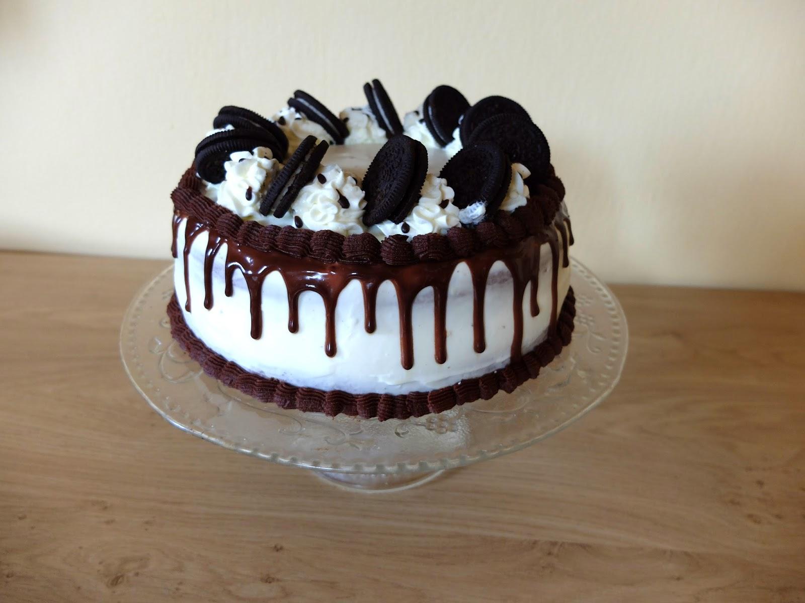 malý dort k narozeninám Oreo dort   Malá Dominika malý dort k narozeninám