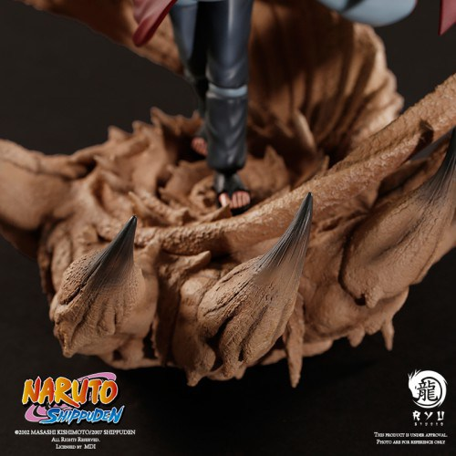 Gaara de Naruto Shippuden de Ryu Studio