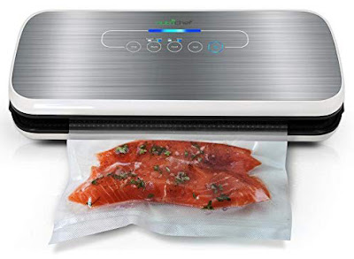 Automatic Vacuum Air Sealing System For Food Preservation w Starter Kit