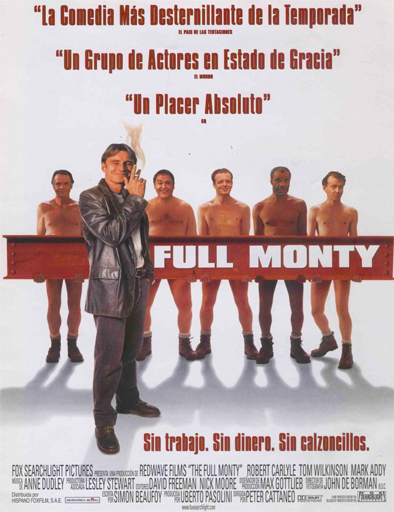 Ver Todo o nada (The Full Monty) (1997) Online