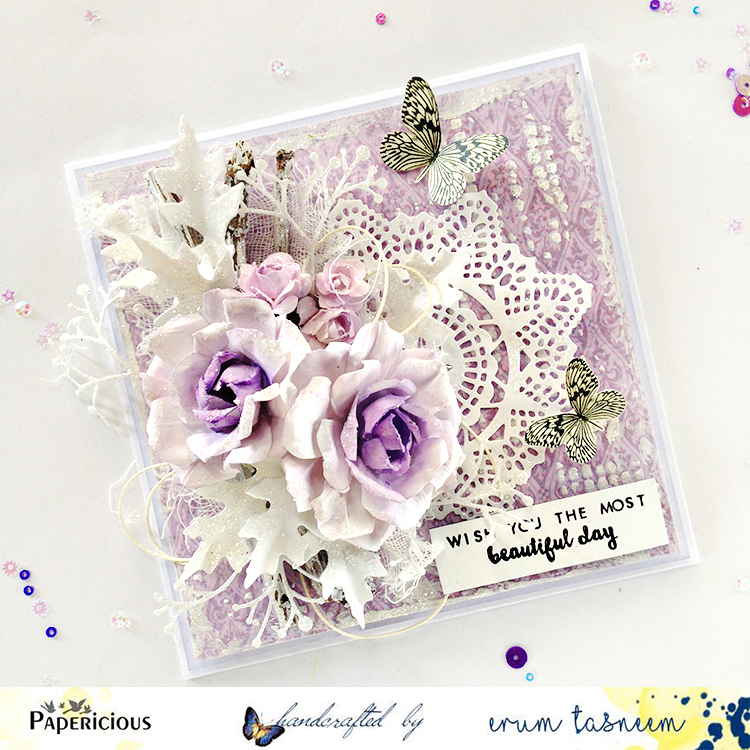 Papericious card made by Erum Tasneem @pr0digy0