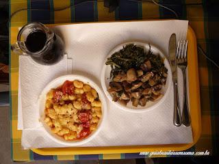 Almoço no restaurante Luna e L'altra