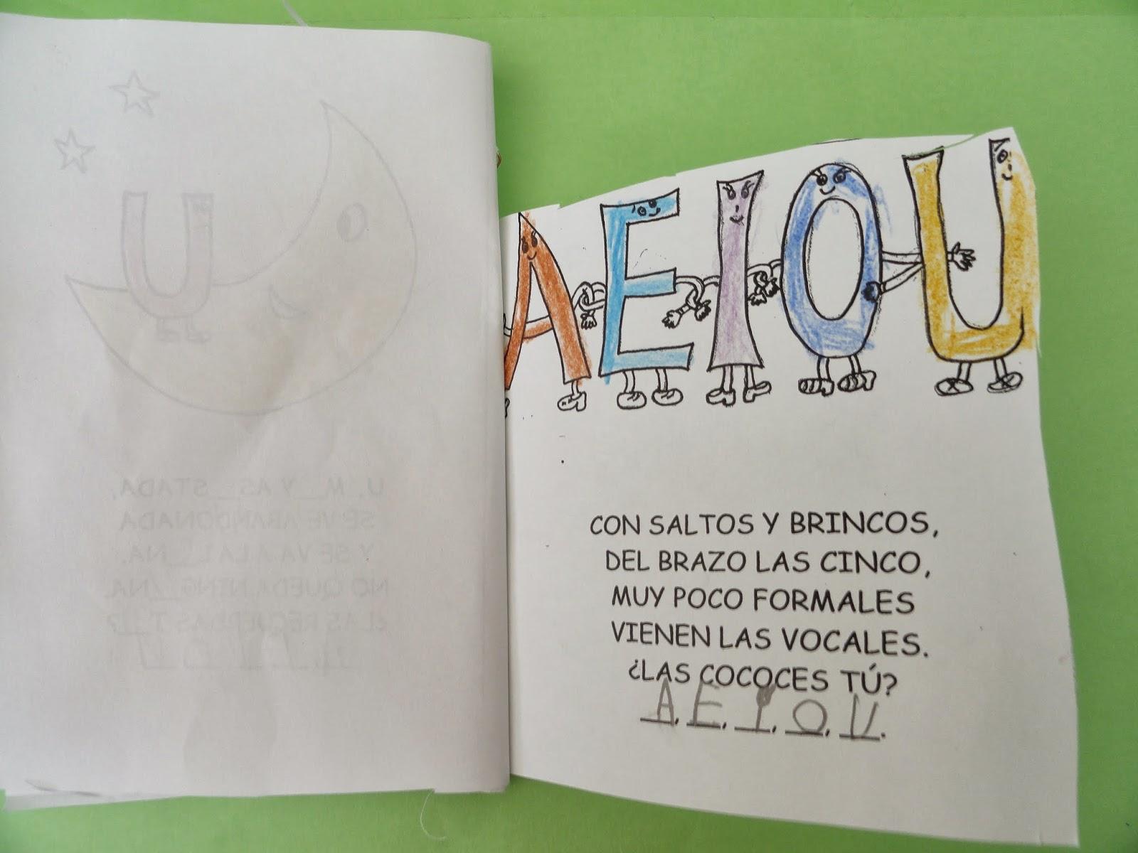 """Poesia De Las Vocales: La Magia De La Infancia: Poema"""" Las Cinco Vocales"""" De"""