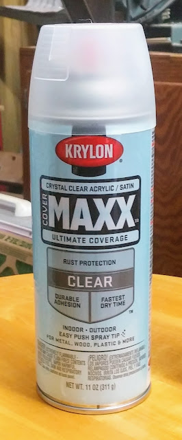 Krylon Crystal Clear Satin Paint
