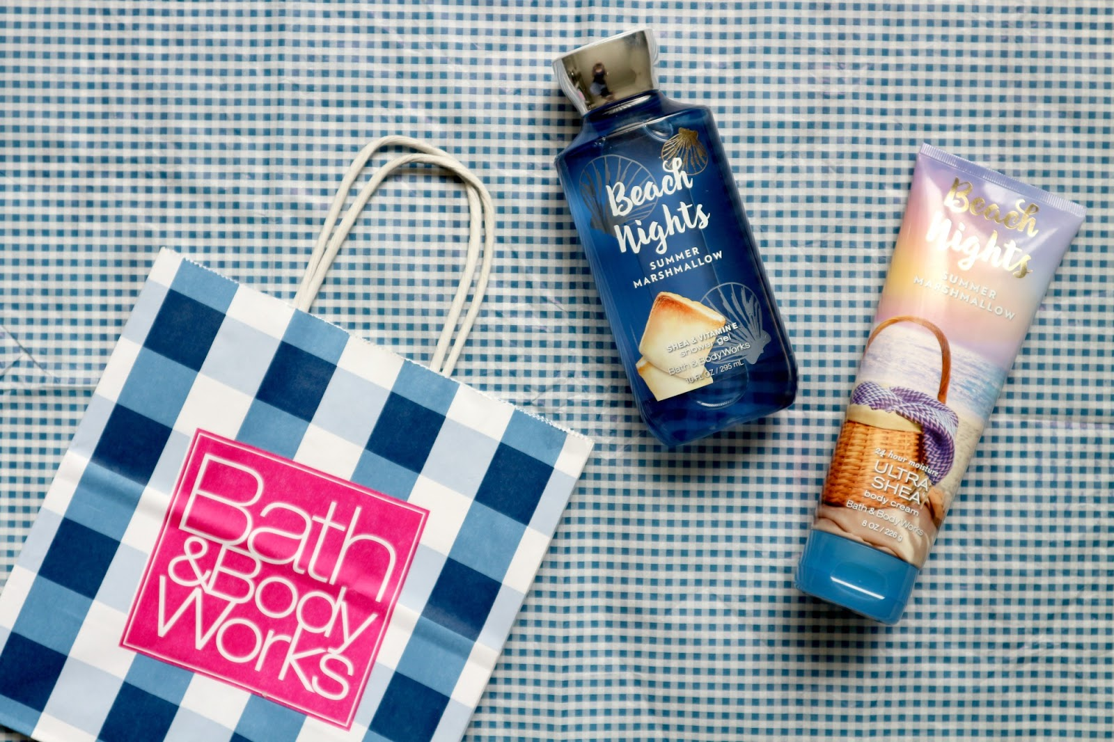 Bath and body works Beach Nights Summer Marshmallow