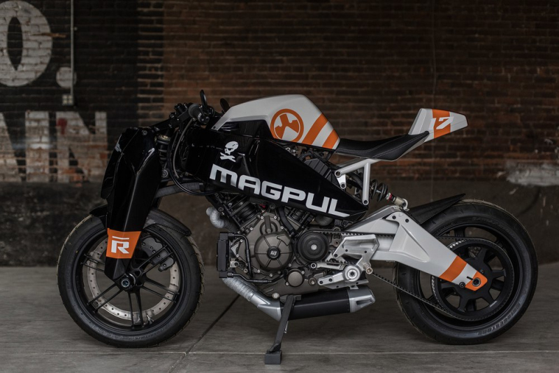 Custom MAGPUL RONIN motorcycle 8