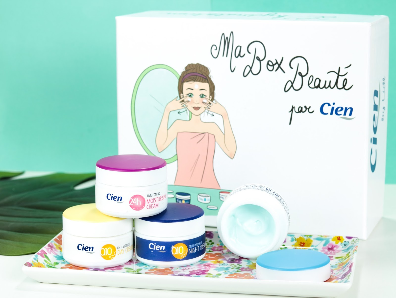 Ma Box Beauté Spéciale Hydratation par Cien Avis crème Cien anti-rides Q10 jour et nuit Crème Cien Hydratante Aqua Crème Cien Soin Visage 24H