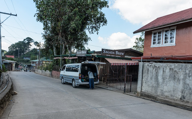 8TH WONDER TRAVEL DESTINATION HIDDEN FIDELISAN RICE TERRACES SAGADA BREW Arrival