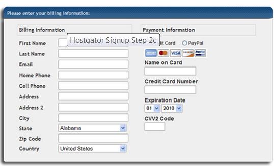 Cara Daftar Hostgator