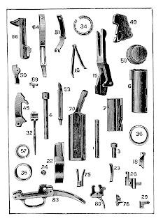 background printable gun image antique illustration