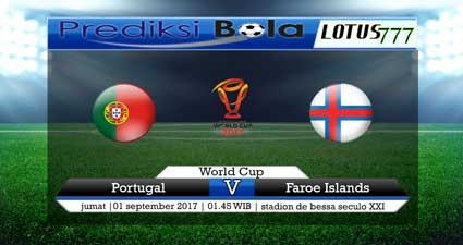 Prediksi Portugal Vs Kepulauan Faroe 01 September 2017