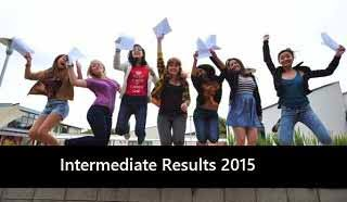 inter results 2015 1st 2nd year