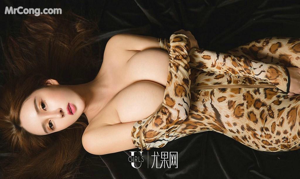 Image UGIRLS-Ai-You-Wu-App-No.1327-Bai-Yi-Han-MrCong.com-032 in post UGIRLS – Ai You Wu App No.1327: Người mẫu Bai Yi Han (白一晗) (35 ảnh)