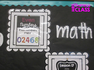 Classroom Focus Board/Objective Board to display what you're learning and share learning goals.