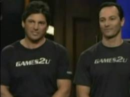 Games2U seen on the Shark Tank season 2