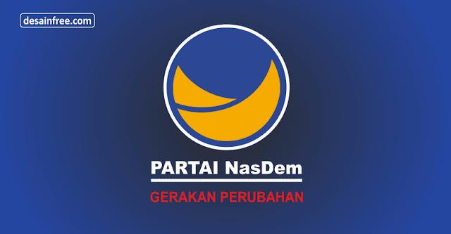 Download Logo Partai Nasdem Format CorelDraw