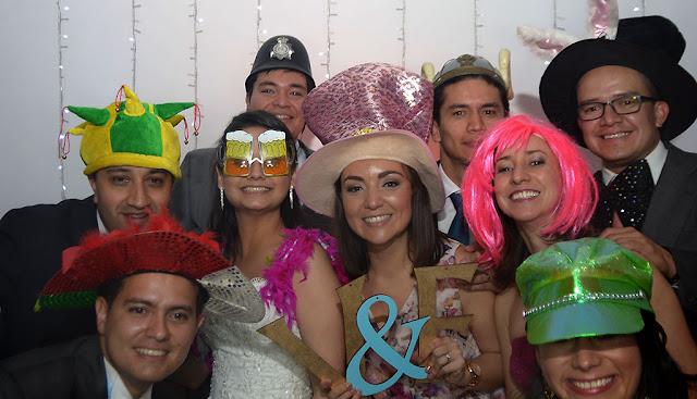 fotocabinas para bodas en Santa Elena