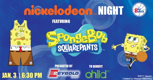 0b0e33c5ab9 NickALive!  The Delaware 87ers To Host Nickelodeon Night Featuring ...