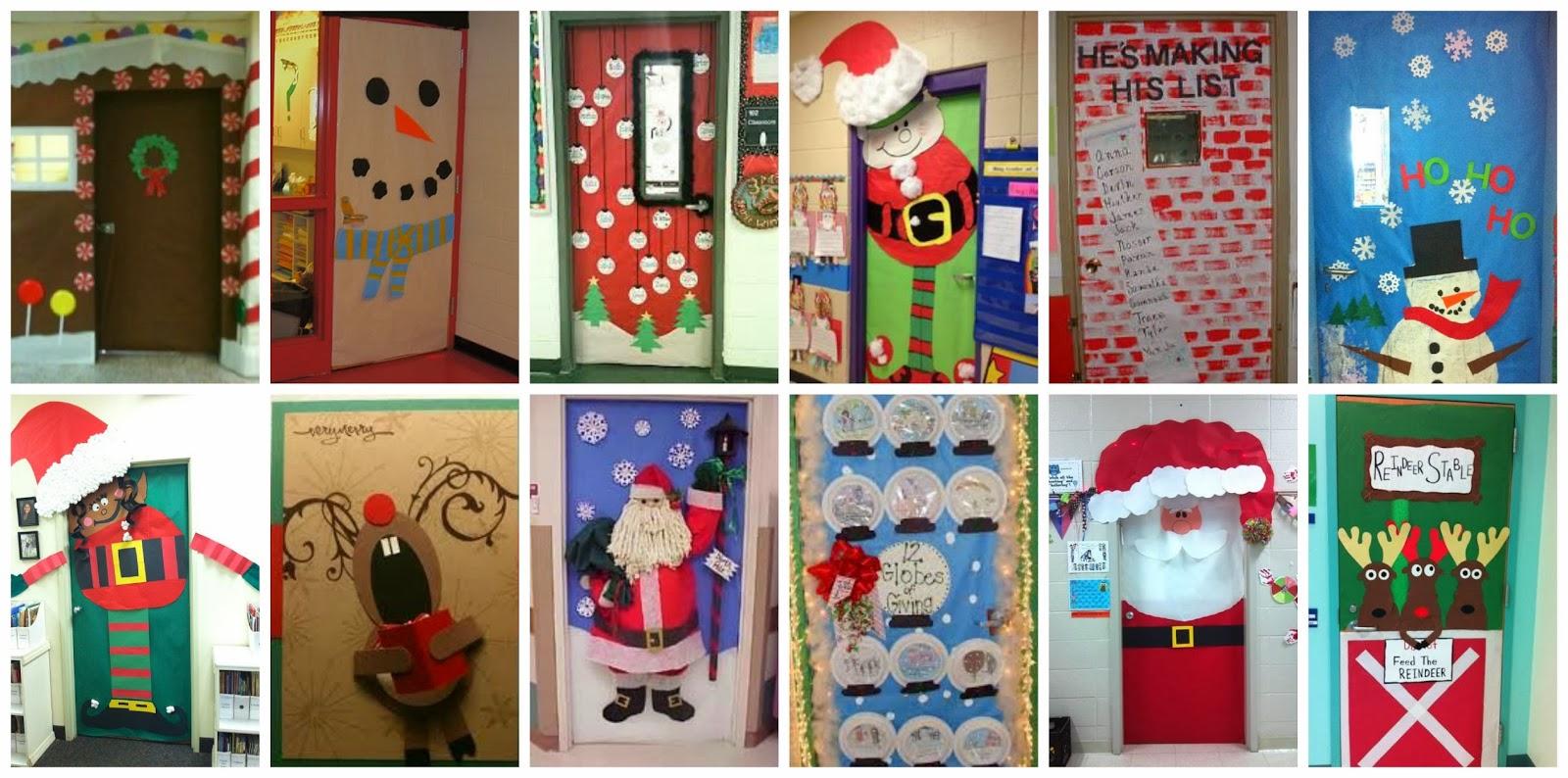 Creciendo juntos en el cole puertas listas para las fiestas for Puertas decoradas navidad colegio