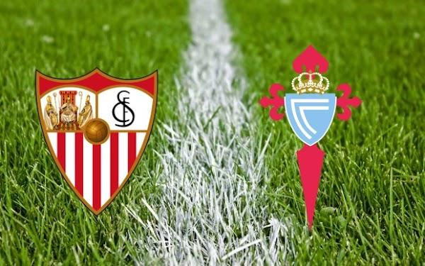 Ver en directo el Sevilla - Celta de Vigo