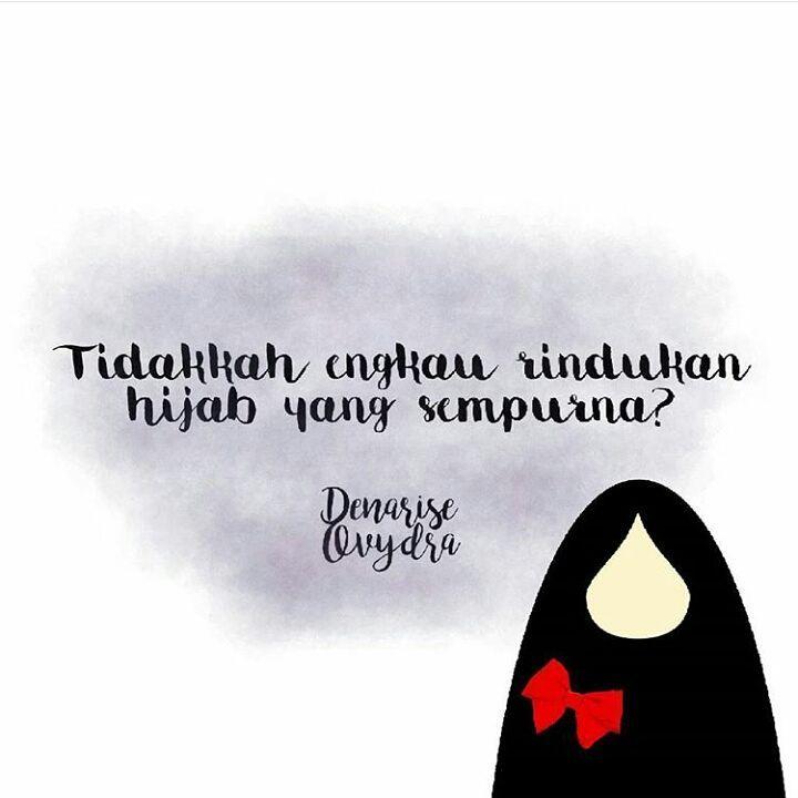 Gambar DP Kartun Hijab Muslimah Katakata Bijak Islami  DramaSosmed