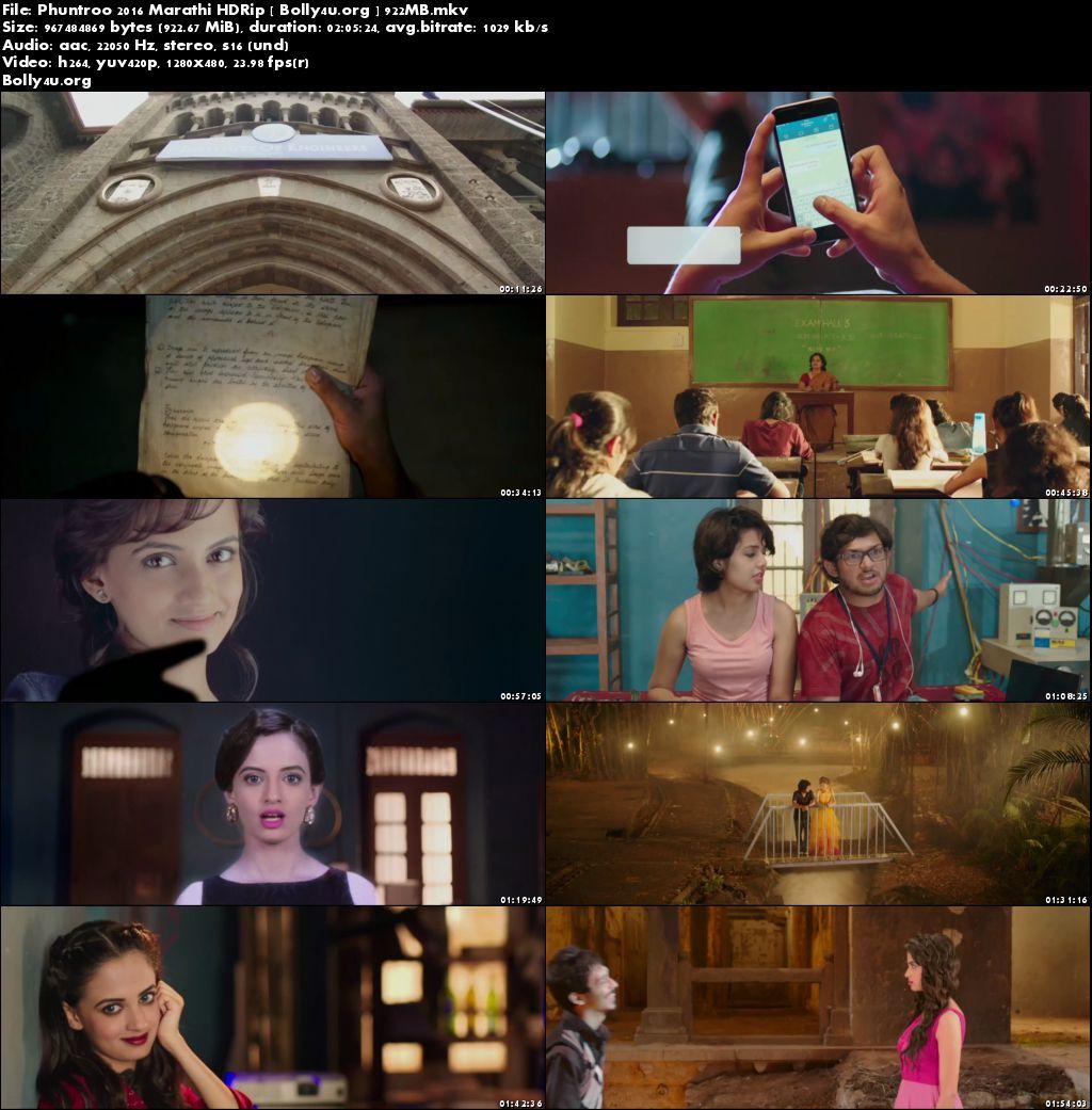 Phuntroo 2016 HDRip 480p Marathi Movie 350MB