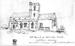 medieval church drawing wolverton past history description building 1970 before shows south norman
