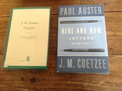 Paru au Seuil : Disgrâce de J. M. Coetzee
