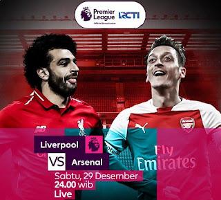 Prediksi Liverpool vs Arsenal - Sabtu 29 Desember 2018