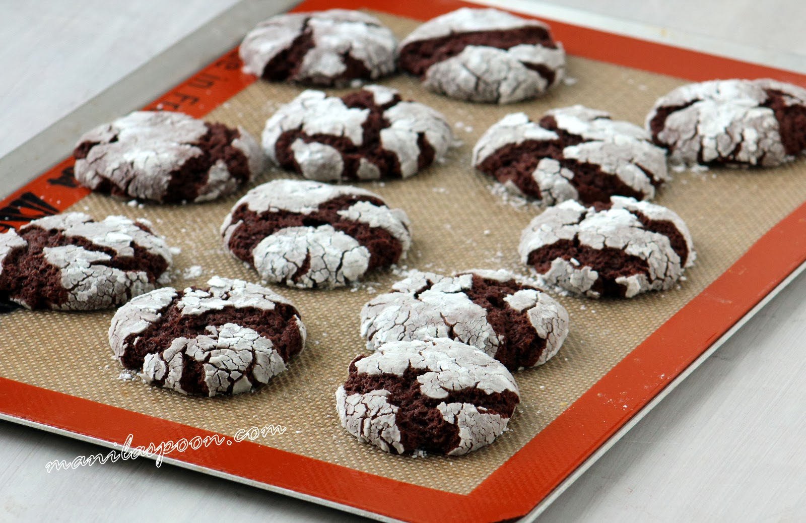 Fudgy, chewy, sweet and oh so yummy - Chocolate Crinkle Cookies! Super easy to make as well and perfect for the holiday season!!