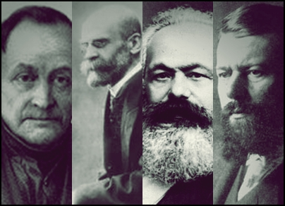 Resultado de imagem para A respeito de evolucionismos nas obras de Émile Durkheim e Max Weber