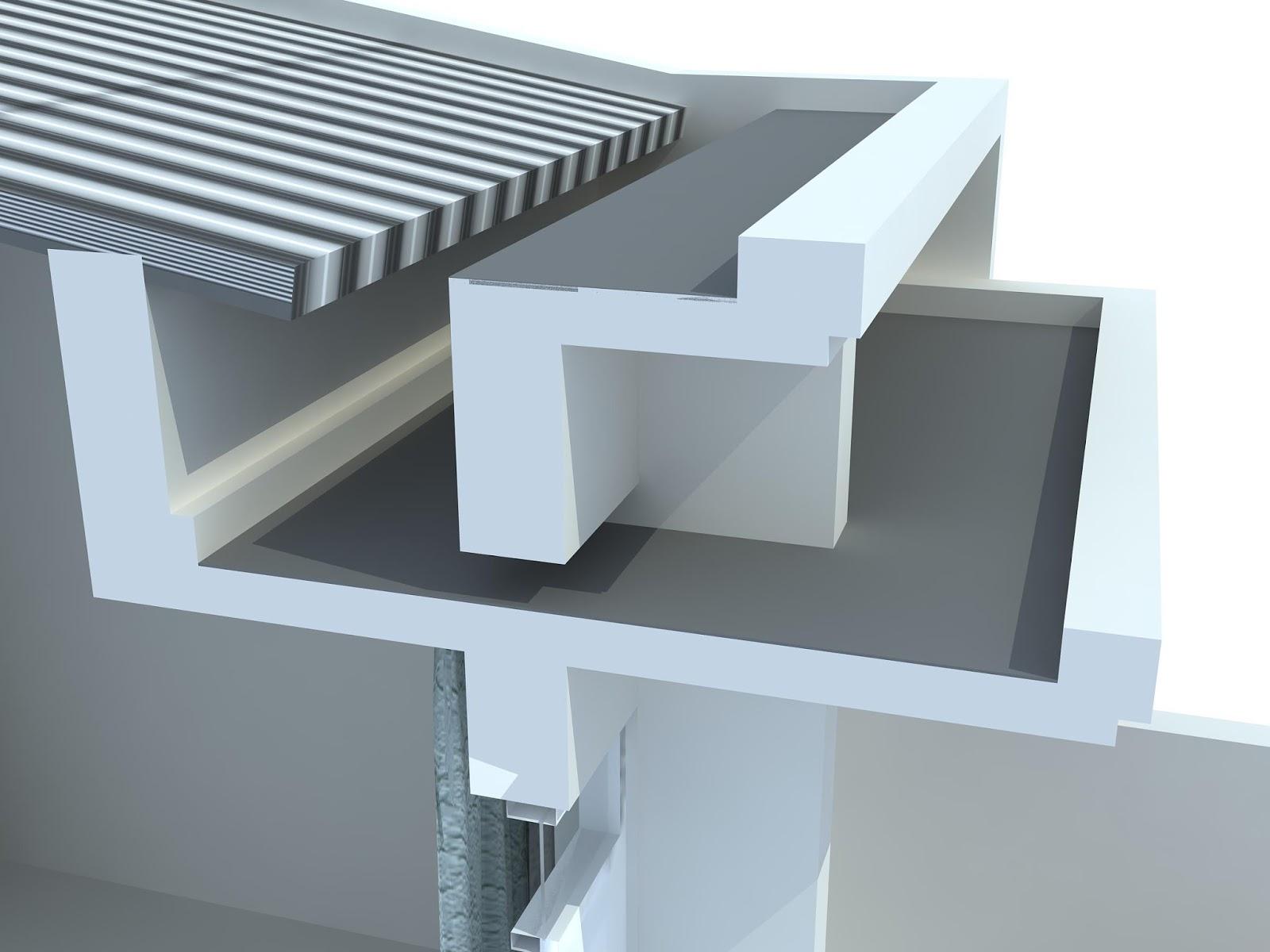 Hasil gambar untuk talang air beton