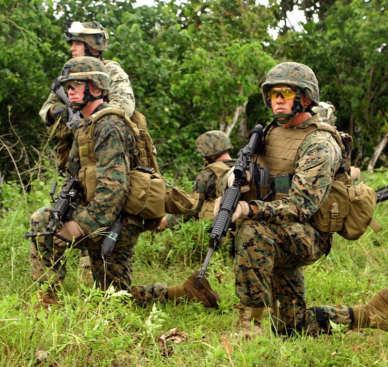 Four Bees: US Marine Corps MARPAT Camo Shirt (MCCU), USMC ...