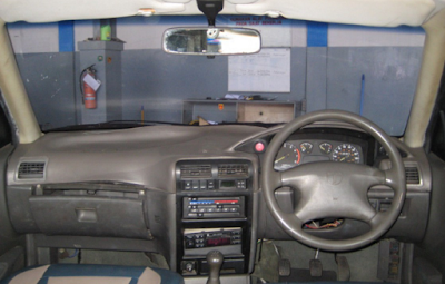 Interior Sedan Timor / KIA Sephia