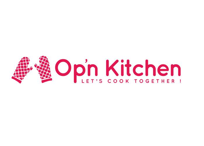 logo cuisine graphisme culinaire Opn Kitchen