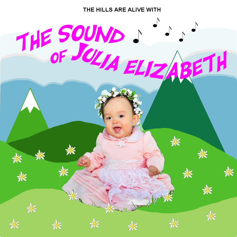 The Sound Of Music Birthday Party: Julia's 1st Birthday