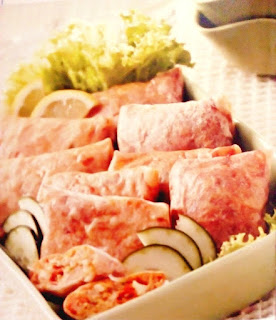 Gambar Resep Martabak Ayam Pedas