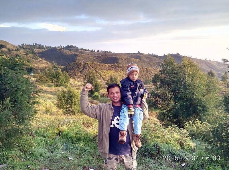 Asiknnya liburan bersama keluarga ke gunung prau