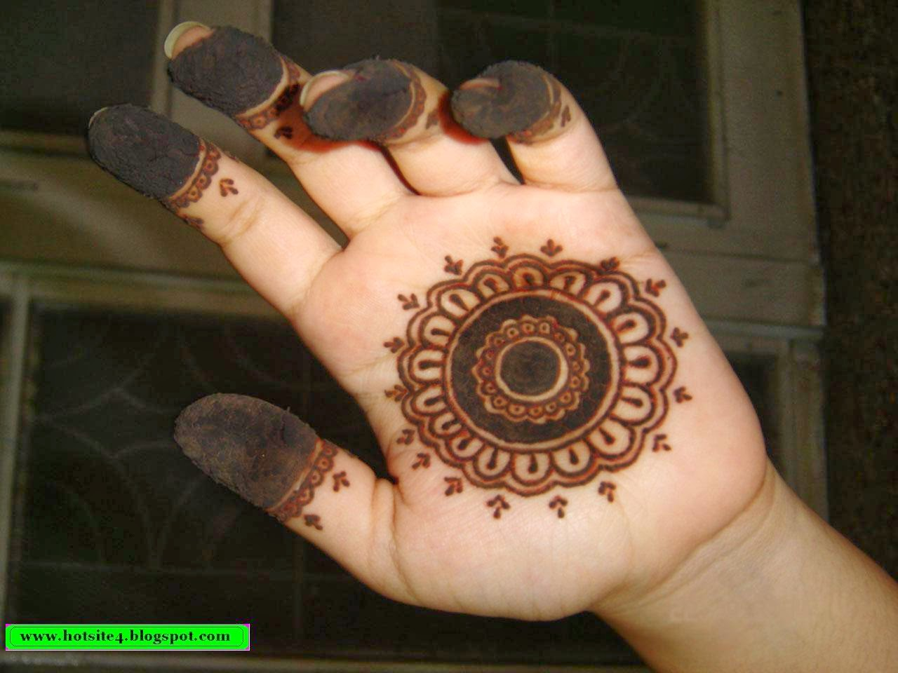 Naked mehndi newly
