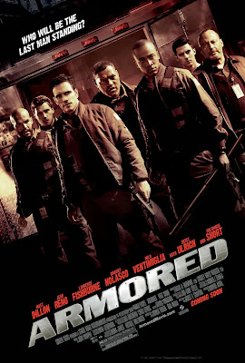 Poster Of Armored (2009) In Hindi English Dual Audio 300MB Compressed Small Size Pc Movie Free Download Only At worldfree4u.com
