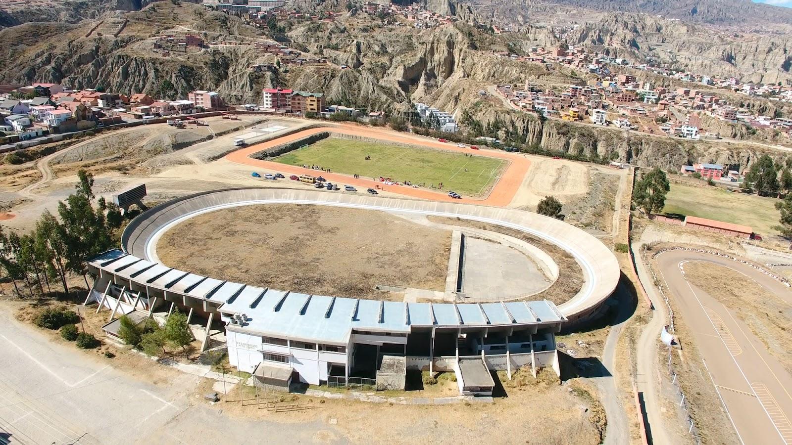 Complejo deportivo ubicado en Alto Irpavi tuvo un costo de Bs 578 mil