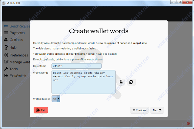 Setting up MultiBit HD bitcoin wallet-3