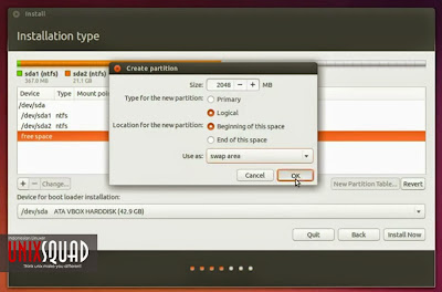 Install Ubuntu 14.04 Alongside Windows (With Complete Pict)