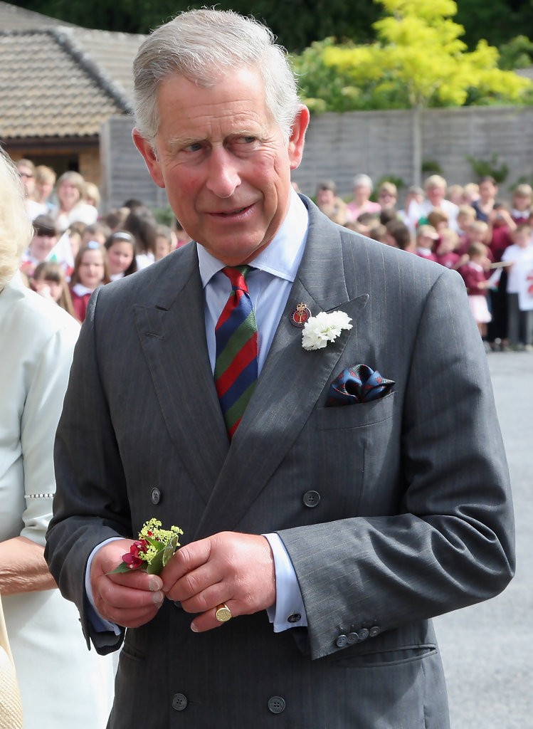 The Shoe Aristocat Hrh Prince Charles On The Little