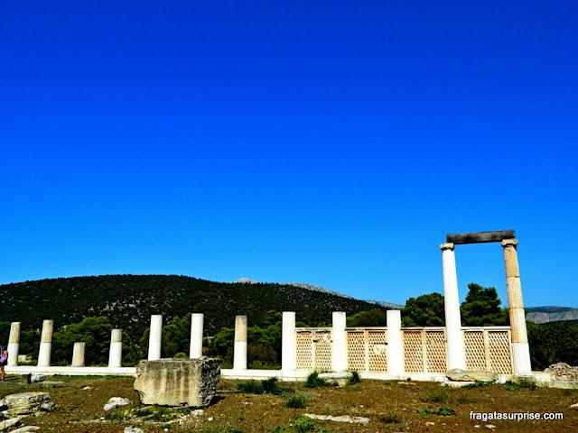 Sítio Arqueológico de Epidauros - Katagogeion