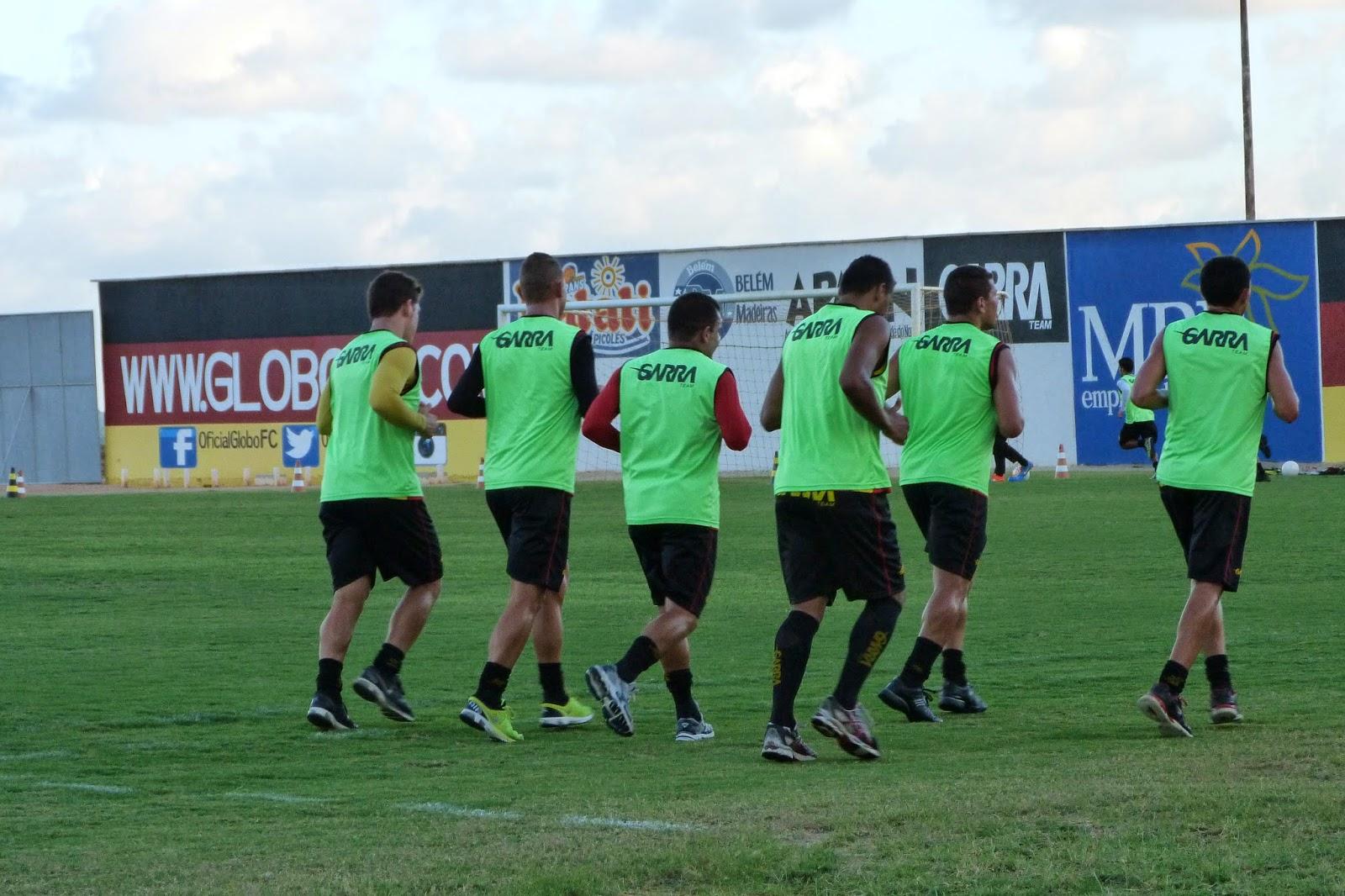 Jogadores do Globo começaram os treinamentos visando início da preparação  para as competições que acontecerão em 2015. Time do  Ninho da Águia   participará ... 9c4a3a5408f51